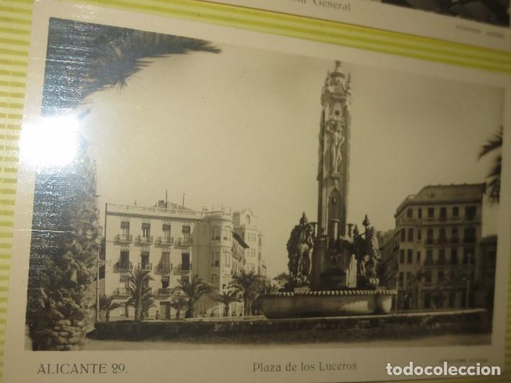 Fotografía antigua: LOTE FOTOS ORIGINALES ANTIGUAS ALICANTE TAMAÑO POSTAL CALLES - Foto 8 - 123083987