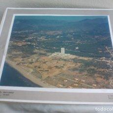 Fotografía antigua - FOTOGRAFÍA AEREA, HOTEL HILTON, MARBELLA. COSTA DEL SOL. MÁLAGA. MIDE 38 X 30,5 CM VISTA AEREA - 123097619
