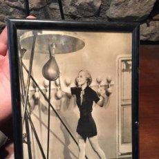 Fotografía antigua: ANTIGUA FOTOGRAFIA DE MUJER AMERICANA BOXEADORA DE TERRY WALKER AÑOS 70 . Lote 123344603