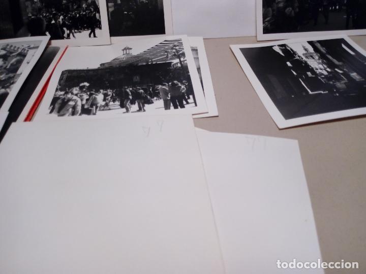Fotografía antigua: LOTE DE 12 FOTOGRAFIAS ANTIGUAS FALLAS DE VALENCIA EN BLANCO Y NEGRO - 9X9 - Foto 4 - 123605611