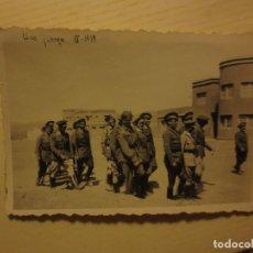 ALTOS MANDOS OFICIALES FOTO INEDITA LEGION GUERRA CIVIL ESPAÑOLA 1939 SIDI IFNI