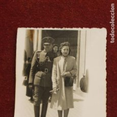 Fotografía antigua: FOTOGRAFIA MILITAR TENIENTE INTENDENCIA, 1942, ZARAGOZA, FOTO CINE SAN GIL. Lote 124503831