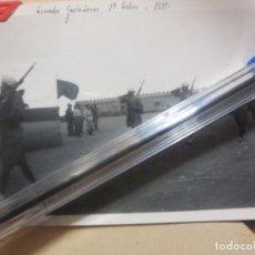 Fotografía antigua: FOTO ORIGINAL INEDITA DESFILE ESCUADRA GASTADORES LEGION EL TABOR 1º 1939 GUERRA CIVIL ESPAÑA. Lote 125435171