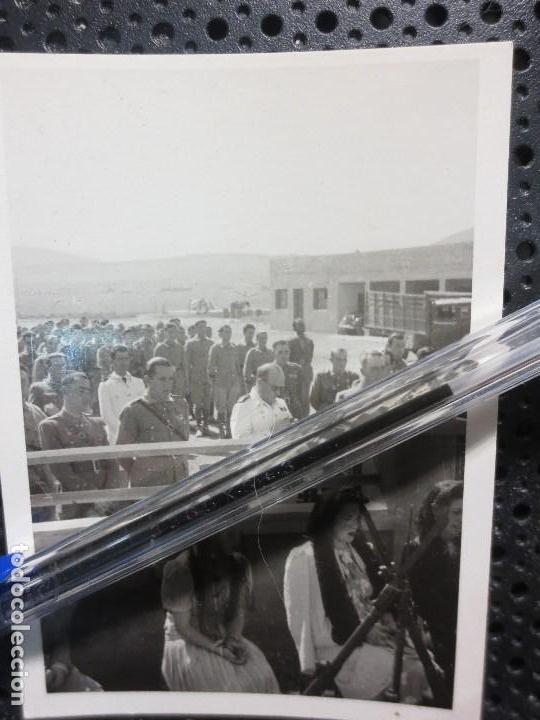 Fotografía antigua: MISA POR LOS CAIDOS EN GUERRA CIVIL LEGION CUARTEL MELILLA CIRCA 1939 - Foto 2 - 126097179