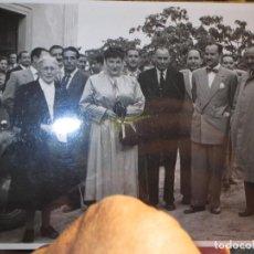 Fotografía antigua: PERSONALIDADES ALICANTE FOTO HERMANOS GARCIA ANTIGUA 18 X 12 MUCHA CALIDAD. Lote 127173935