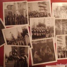 Fotografia antica: MOROS Y CRISTIANOS DESFILES MUJERES/HOMBRES - LOCALIDAD ALICANTE SAN BLAS HOGUERA. Lote 127481939