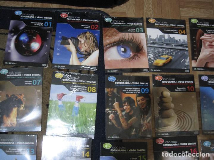 Fotografía antigua: 22 dvd todo sobre la fotografia -del 1 al 22 inclusives-nuevos a estrenar- - Foto 2 - 127979075