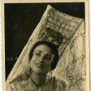 Fotografía antigua: OPERA. EDITH JACQUES. MEZZOSOPRANO BELGA, DEL TEATRE ROYAL DE LA MONNAIE, EN 'CARMEN'........ Lote 128081631