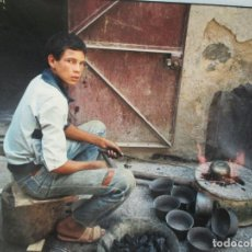 Fotografía antigua: LOTE DE 4 FOTOGRAFIAS ORIGINALES DE MARRUECOS - 1988 - -FIRMADAS - VER FOTOS. Lote 128912515