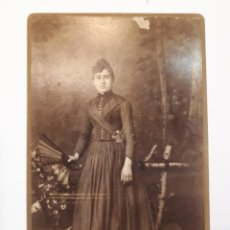 Fotografía antigua: FOTO ESTUDIO P. CALLIGARIS, MONTEVIDEO. 1892.. Lote 129146979