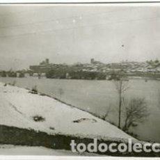Fotografía antigua: ZAMORA 1932. DESPUÉS DE LA GRAN NEVADA, VISTA GENERAL DE LA CIUDAD. VER MAS... . Lote 129186783