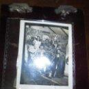 Fotografía antigua: MIRANDA DEL EBRO EN LAS BARRACAS FIESTAS SAN JUAN SANJUANEROS DECORADO PLAZA TOROS Y TORO Y NINOT. Lote 129311779