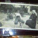 Fotografía antigua: ÇFOTO POSTAL MANUSCRITA NIÑOS DE MIRANDA DEL EBRO TRAJES TIPICOS REGIONALES. Lote 129396751