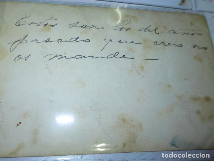 Fotografía antigua: FOTO POSTAL MANUSCRITA NIÑOS DE MIRANDA DEL EBRO TRAJES TIPICOS REGIONALES - Foto 3 - 129396751