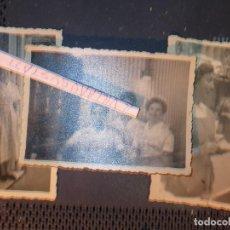Fotografía antigua: LOTE 3 FOTOS ANTIGUA CAFETERIA HELADERIA DE MIRANDA DEL EBRO. Lote 129468659