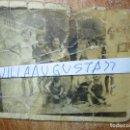 Fotografía antigua: BAÑOS EN MIRANDA DEL EBRO PRICIPIOS DE SIGLO ORILLA DEL RIO. Lote 129483895