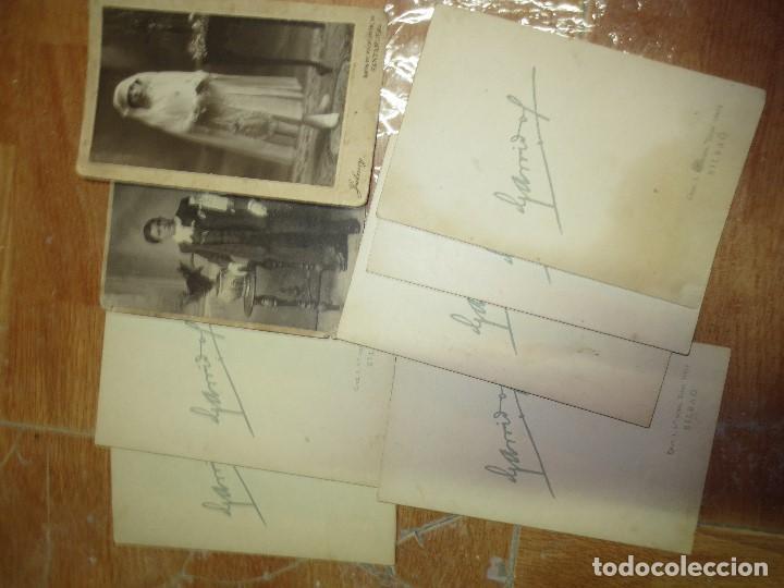 Fotografía antigua: INTERESANTE LOTE FOTOS SANTANDER Y BILBAO PRINCIPIOS SIGLO - Foto 4 - 129518931