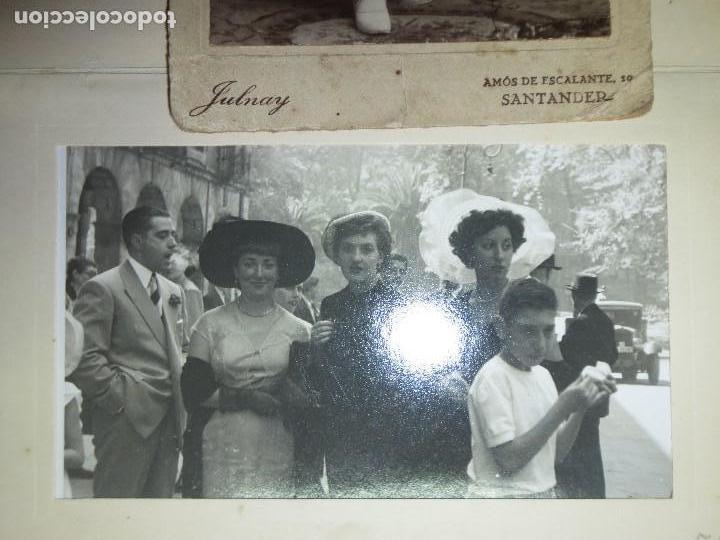 Fotografía antigua: INTERESANTE LOTE FOTOS SANTANDER Y BILBAO PRINCIPIOS SIGLO - Foto 5 - 129518931