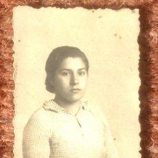 Photographie ancienne: SEÑORITA POSANDO. Lote 129575811