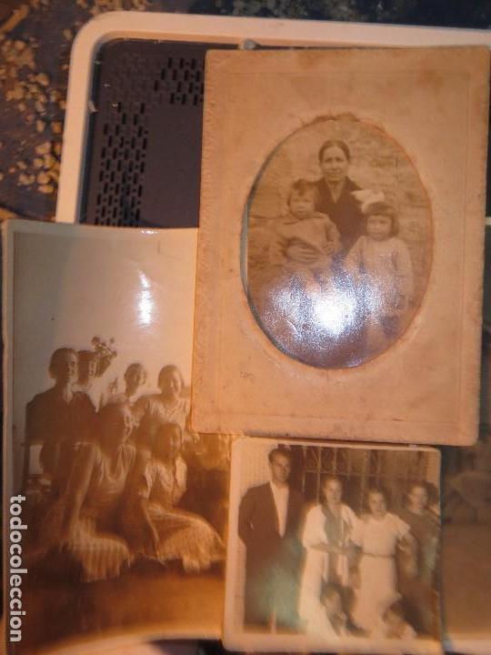 Fotografía antigua: MIRANDA EBRO MIRANDESES LOTE FOTOS ANTIGUAS TIEMPO GUERRA CIVIL PATIO DE CASA VENTANA - Foto 4 - 129931911