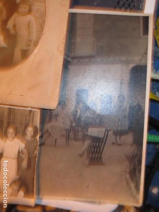 Fotografía antigua: MIRANDA EBRO MIRANDESES LOTE FOTOS ANTIGUAS TIEMPO GUERRA CIVIL PATIO DE CASA VENTANA - Foto 5 - 129931911