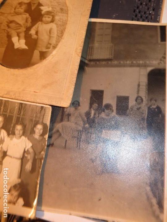 Fotografía antigua: MIRANDA EBRO MIRANDESES LOTE FOTOS ANTIGUAS TIEMPO GUERRA CIVIL PATIO DE CASA VENTANA - Foto 6 - 129931911