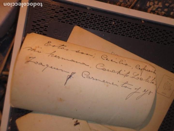 Fotografía antigua: MIRANDA EBRO MIRANDESES LOTE FOTOS ANTIGUAS TIEMPO GUERRA CIVIL PATIO DE CASA VENTANA - Foto 7 - 129931911