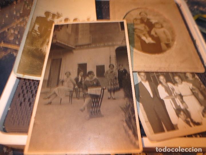 Fotografía antigua: MIRANDA EBRO MIRANDESES LOTE FOTOS ANTIGUAS TIEMPO GUERRA CIVIL PATIO DE CASA VENTANA - Foto 2 - 129931911