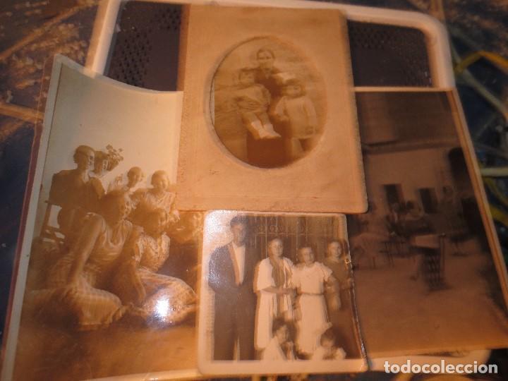 Fotografía antigua: MIRANDA EBRO MIRANDESES LOTE FOTOS ANTIGUAS TIEMPO GUERRA CIVIL PATIO DE CASA VENTANA - Foto 3 - 129931911