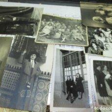 Fotografía antigua: LOTE 8 FOTOS ANTIGUAS MIRANDA DEL EBRO SANJUANEROS EN FIESTAS PERSONAS RELACCIONADAS. Lote 130020279