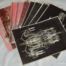 Fotografía antigua: VINTAGE - LOTE DE 11 FOTOGRAFÍAS DE LÁMPARAS ANTIGUAS - CREO QUE DE VENDEDOR DE LÁMPARAS - ENVIO 24H. Lote 130042771