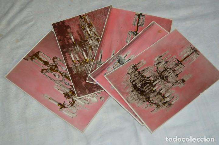Fotografía antigua: VINTAGE - LOTE DE 11 FOTOGRAFÍAS DE LÁMPARAS ANTIGUAS - CREO QUE DE VENDEDOR DE LÁMPARAS - ENVIO 24H - Foto 2 - 130042771
