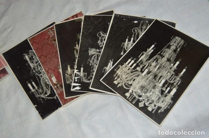 Fotografía antigua: VINTAGE - LOTE DE 11 FOTOGRAFÍAS DE LÁMPARAS ANTIGUAS - CREO QUE DE VENDEDOR DE LÁMPARAS - ENVIO 24H - Foto 3 - 130042771