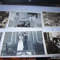 Fotografía antigua: VENDO FOTOGRAFIAS ANTIGUAS DE MIRANDA DEL EBRO FIESTAS SAN JUAN SALON PERSONAS ETC. Lote 130079307