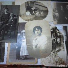 Fotografía antigua: VENDO 8 FOTOGRAFIAS ANTIGUAS DE MIRANDA DEL EBRO BODA EN IGLESIA PERSONAS MIRANDESES. Lote 130079339
