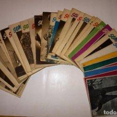 Fotografía antigua: LOTE DE 31 REVISTAS SOMBRAS REVISTA FOTOGRÁFICA DE 1945 A 1948 VER LISTADO DE NUMEROS. Lote 130082979