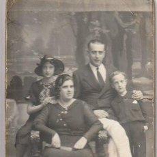 Fotografía antigua: FOTOGRAFIA FAMILIAR FOTOGRAFO AMER PALMA DE MALLORCA - -H-8. Lote 130115615