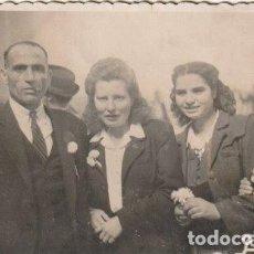 Fotografía antigua: FOTOGRAFIA FAMILIAR FOTOGRAFO FOTO MAS CASTELLON - -H-8. Lote 130116883
