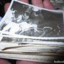 Fotografía antigua: LOTE DE 51 FOTOGRAFIAS ANTIGUAS PERSONAS DE MIRANDA EBRO SANJUANEROS DE MERIENDA MOTO BICICLETA. Lote 130334106