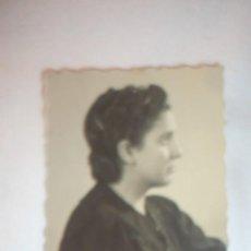 Fotografía antigua: FOTO MUJER POSANDO; AÑO 1940. Lote 130550850