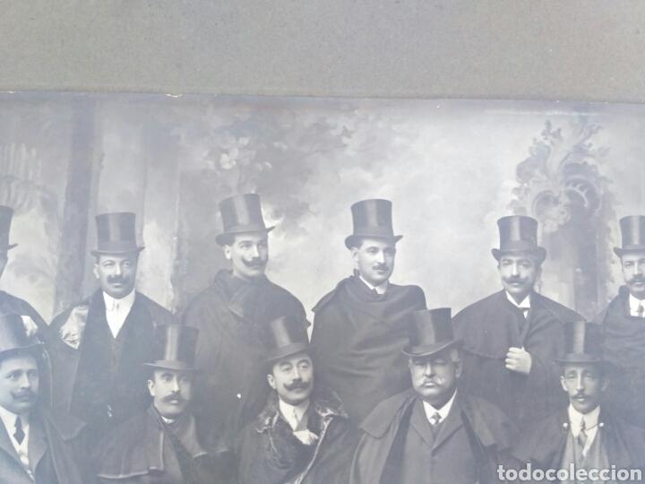 Fotografía antigua: Fotografía antigua de grupo, Vigo, Galicia, foto de Pacheco y viuda de Prosperi. - Foto 4 - 130838265