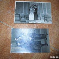 Fotografía antigua: MIRANDA DEL EBRO FIESTAS BELLAS DAMAS EN SALON Y MATRIMONIO FOTOS ANTIGUAS . Lote 131405986