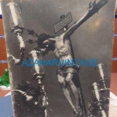 Fotografía antigua: SEMANA SANTA SEVILLA, 1948, CRISTO DE LA SALUD, SAN BERNARDO, FOT.LUIS ARENAS,50X60 CMS, ESTA SOBRE . Lote 131493578