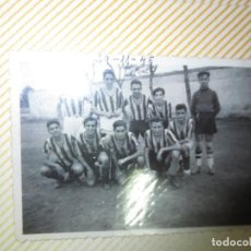 Alte Fotografie - VALENCIA FUTBOL PLANTILLA 1942 EQUIPO SIN DETERMINAR FOTO ANTIGUA - 131558066