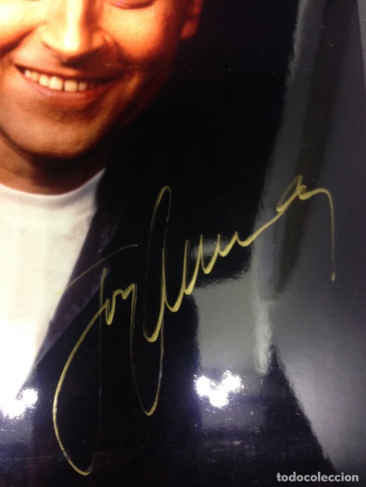 Fotografía antigua: Fotografía de estudio JOSÉ CARRERAS, 13X18 cm, firma original, autógrafo. - Foto 2 - 131731798