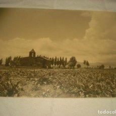 Fotografía antigua: ERMITA DE BELLVITGE , ANTIGUA FOTO EN CARTON DURO 1942 . 37 X 24,5 CM.. Lote 132019054