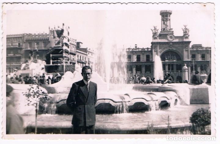 VALENCIA.AÑO 1942. FALLA PLAZA DEL CAUDILLO (Fotografía - Artística)