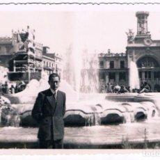 Fotografía antigua: VALENCIA.AÑO 1942. FALLA PLAZA DEL CAUDILLO. Lote 132233478