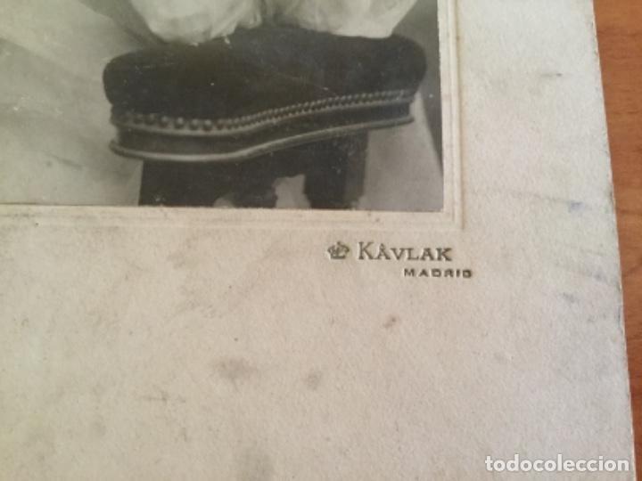 "Fotografía antigua: Fotografía de Kaulak ""Cánovas del Castillo"" Niña Primera Comunión - Foto 2 - 132414214"