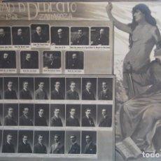 Fotografía antigua: ORLA FACULTAD DE DERECHO DE ZARAGOZA - 1907-1908 - G. FREUDENTHAL FOTÓGRAFO. Lote 132461586